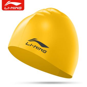 DISKON LINING nyaman dan wanita dengan rambut panjang Waterproof topi topi renang topi renang TERLARIS