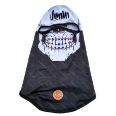 Masker Balaclava Ninja Motif Skull Tengkorak