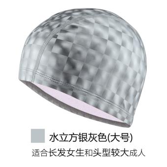 PENAWARAN Mata Air Panas topi renang model fashion topi renang dengan rambut panjang TERMURAH