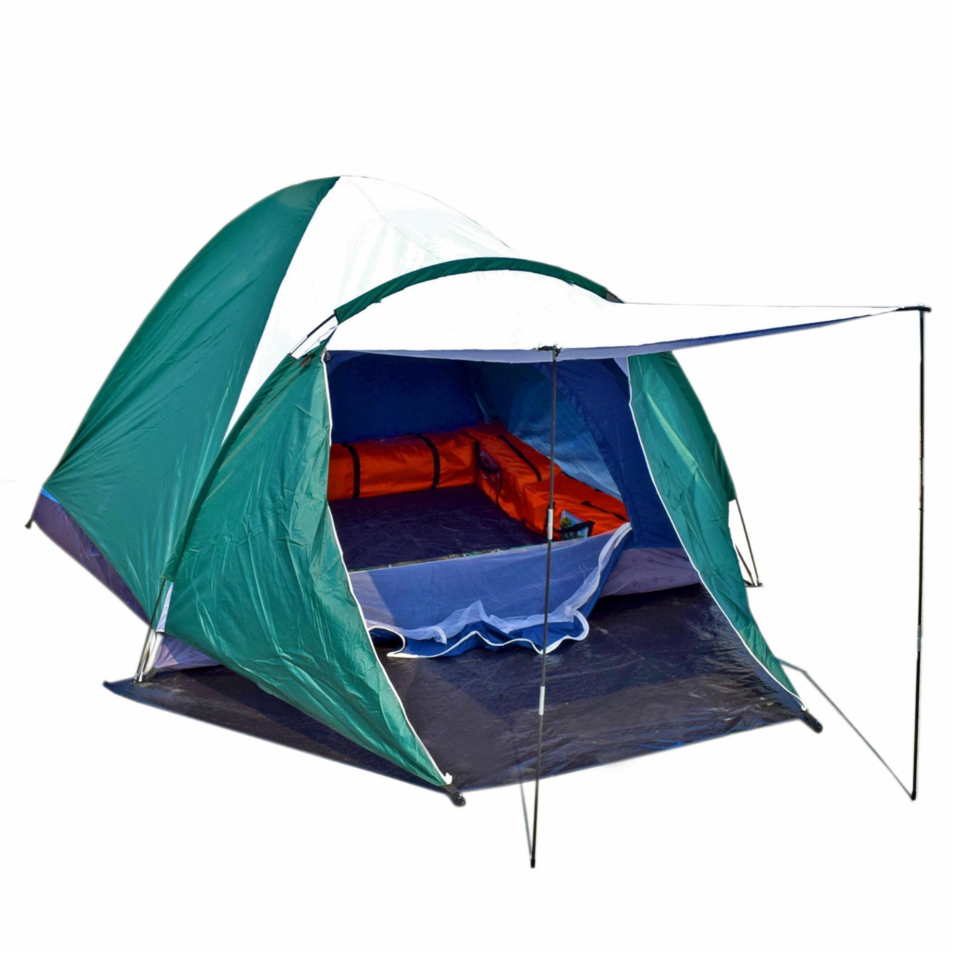 Matougui WS004 Tenda Camping Hiking Dewasa Double Layer Kapasitas 3 / 4 Orang .
