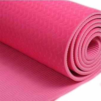 Matras Yoga / Yoga Mat Pvc Tebal 6 Mm