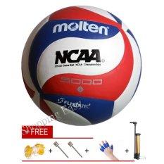 Molten 5000 Official GAME Volleyball Size 5 Ball Molten V5M5000 Volleyball Soft PU Handball - intl