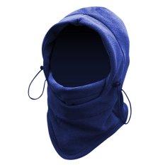 Moreno Masker Buff Balaclava Polar Multifungsi 6in1 Masker Full Face Kupluk Ninja - Biru