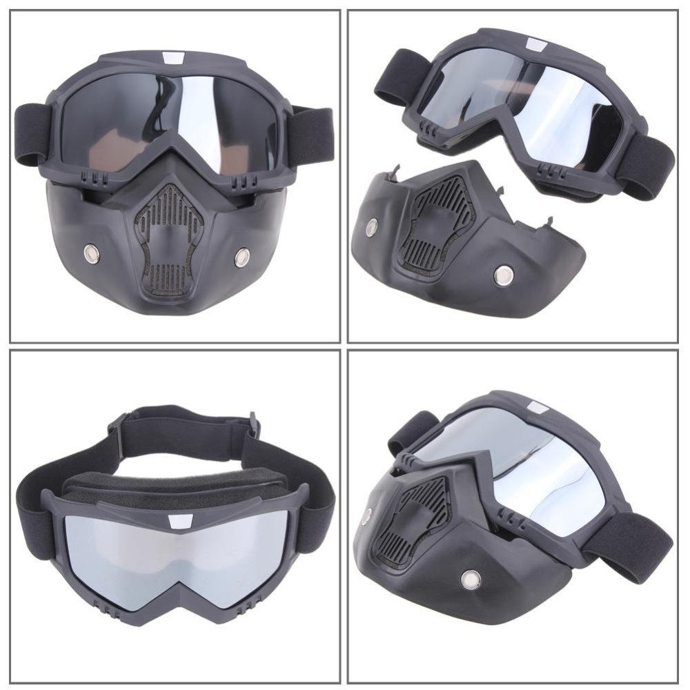 Kmbuff Masker Serbaguna Motif A132 Katalog Harga Terbaru Source · Motor kacamata dilepas Harley Protect Padding penuh Mask Grey intl