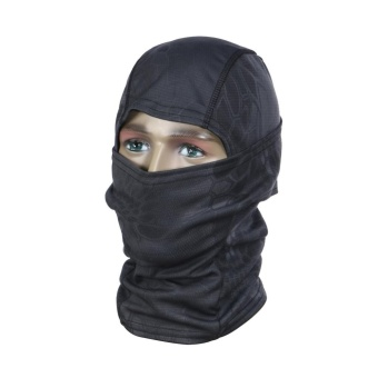 Motorcycle Neck Cover Winter Ski Bike Cycling Face Mask Cap Tactical Scarf - intl