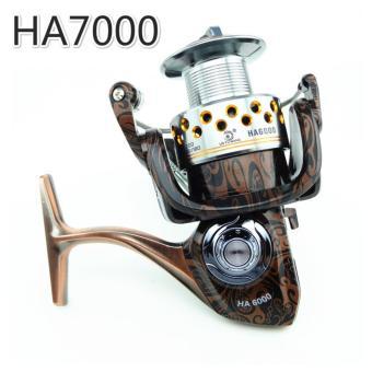 harga NBS Memancing Reel HA 13 + 1 BB All Metal Spiner Umpan Bait Reel 5.2:1 rasio Gear Memancing Carp Reel Rod (HA7000) Lazada.co.id