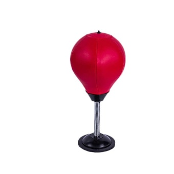 Baru Dewasa Mini Inflator PU Leather Sport Peralatan Punch Punching Bag Speed Ball Stand Tinju Pelatihan