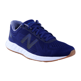 new balance blue. new balance fresh foam arishi sepatu lari pria - blue s