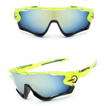 New UV400 Lens sunglasses riding glasses outdoor sports mountain bike glasses - intl
