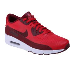 Nike Air Max 90 Ultra 2.0 Essential Sneakers Olahraga Pria - University Red/Team Red