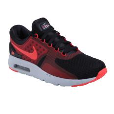 Nike Air Max Zero Essential Sepatu Lari - Black/Bright Crimson-Gy