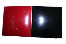 OEM Timoboll Karet Bat Tenis Meja - Merah Hitam