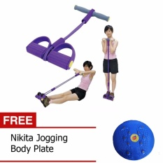 Paket Double Alat Pembentuk Tubuh Tummy Trimmer Dan Jogging Body Plate
