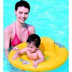 PALING DICARI DOUBLE - RING BABY SEAT / BAN RENANG BAYI BULAT BESTWAY TERLARIS