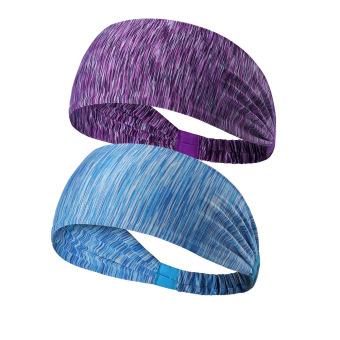 BELI Perempuan kebugaran berjalan yoga band rambut headband olahraga headband MURAH