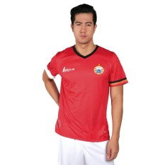 Persija Home Replica S/S Jersey 2017 Jersey Sepak Bola Pria - Fiery Red/White