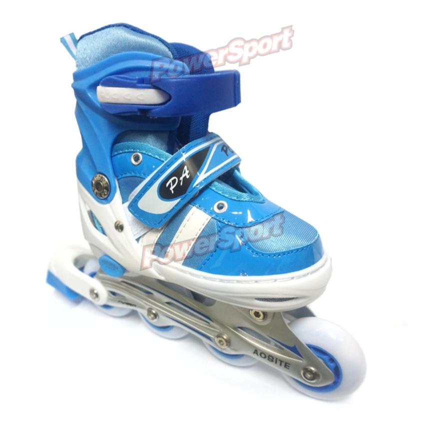 Power Sport Two Stripes 5000 Aosite Inline Skate Sepatu Roda 2 In 1 ... 1cca166658