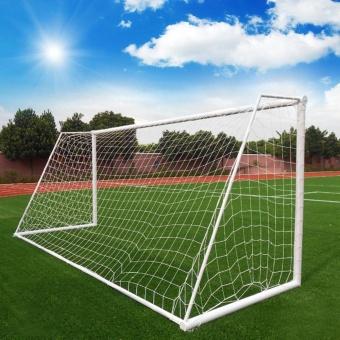 Jual Practice Football Soccer Goal Post Net Outdoor Sport Trainingpractice Toolwhite - Intl Murah