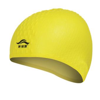 HEMAT Pria Dan Wanita Dengan Rambut Panjang Tahan Air Silikon Berenang Topi Renang Topi TERBAIK