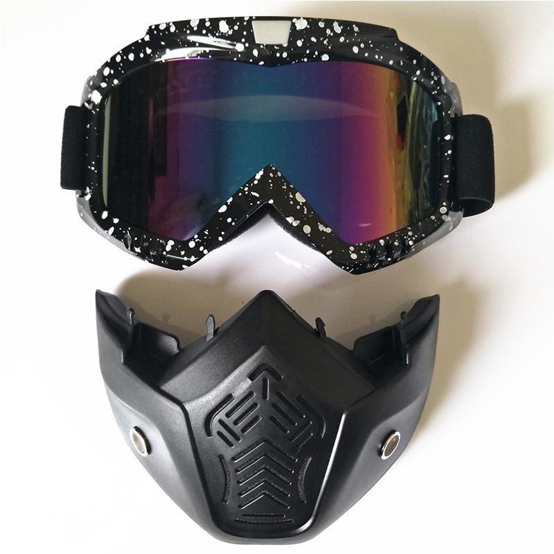 KMBuff Masker Serbaguna Motif A132. Source · Pria Wanita luar ruangan Fashion Goggles masker dilepas Harley Style pelindung Sunglasses .