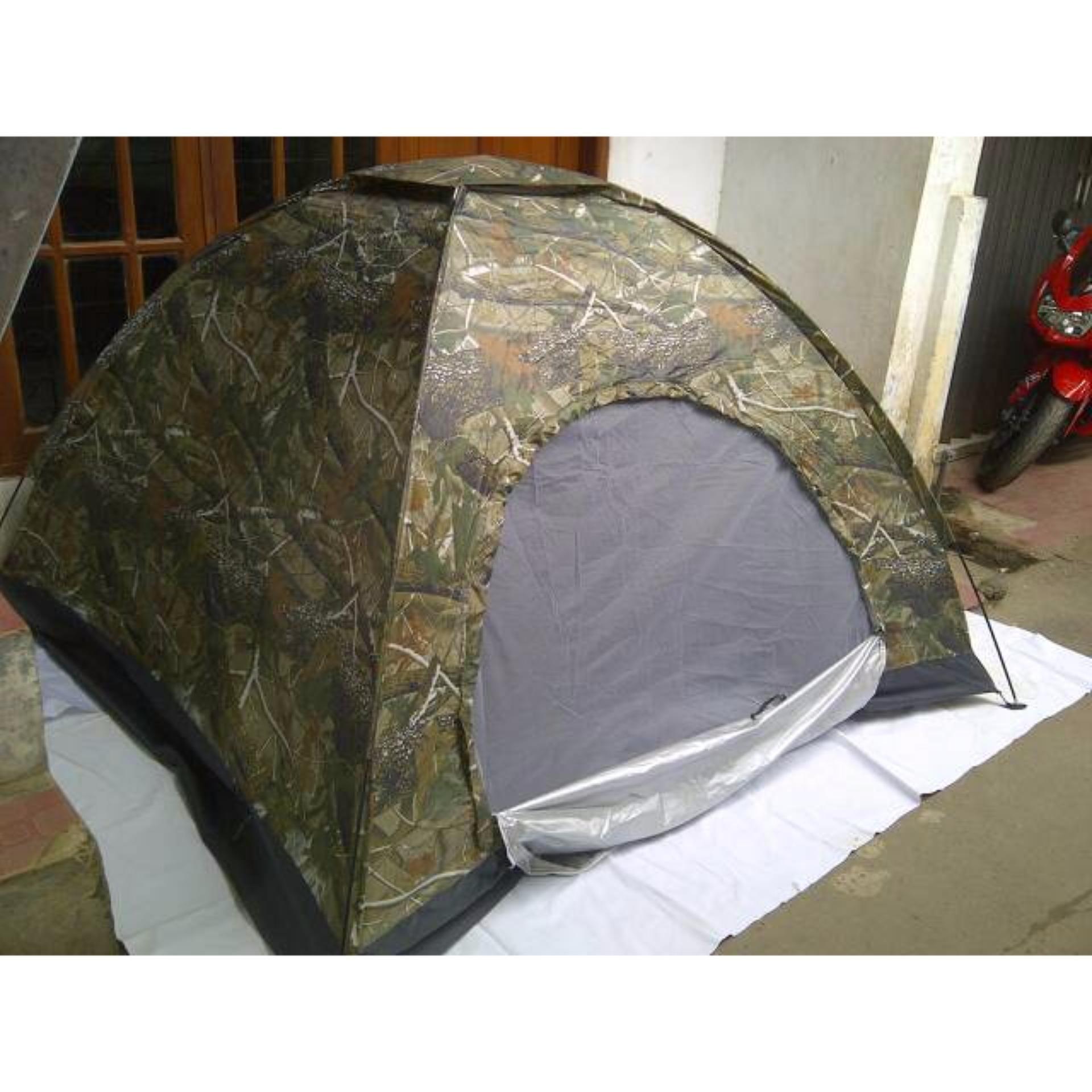 Belanja Murah Promosi Tenda Dome Kapasitas 4 5 Orang Warna Loreng 6 Ultralightmurah