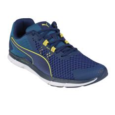 Puma Propel 2 Sepatu Lari Pria Blue Depths-Nrgy Turquoise-Nrgy Yellow