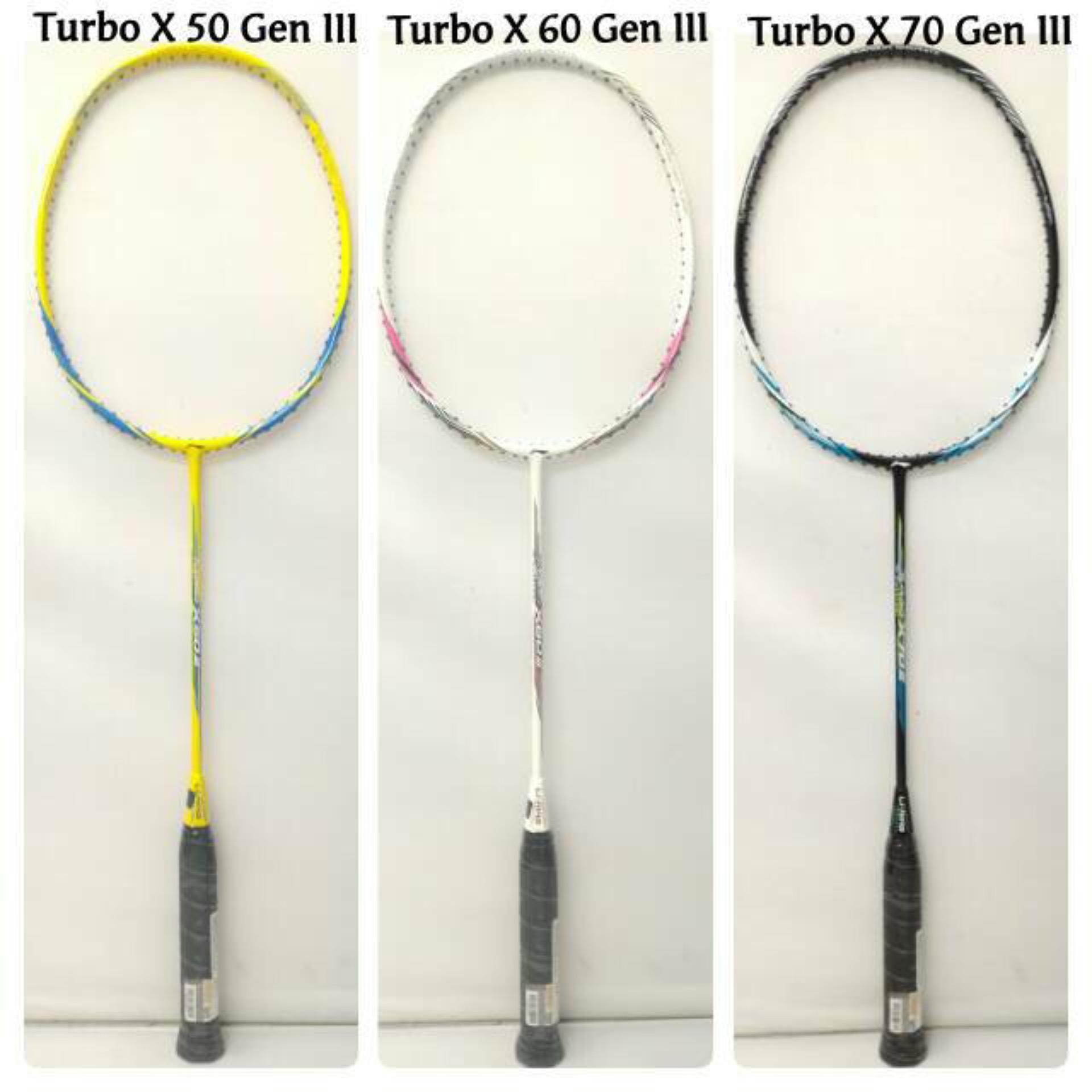 Harga Termurah Raket Badminton Lining Turbo X 70 Generation Iii Yonex  Berkualitas Original