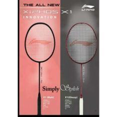 Raket Badminton Lining Xiphos X1 Original 100% New 2017