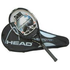 Raket Tenis Carbon Fiber - Black