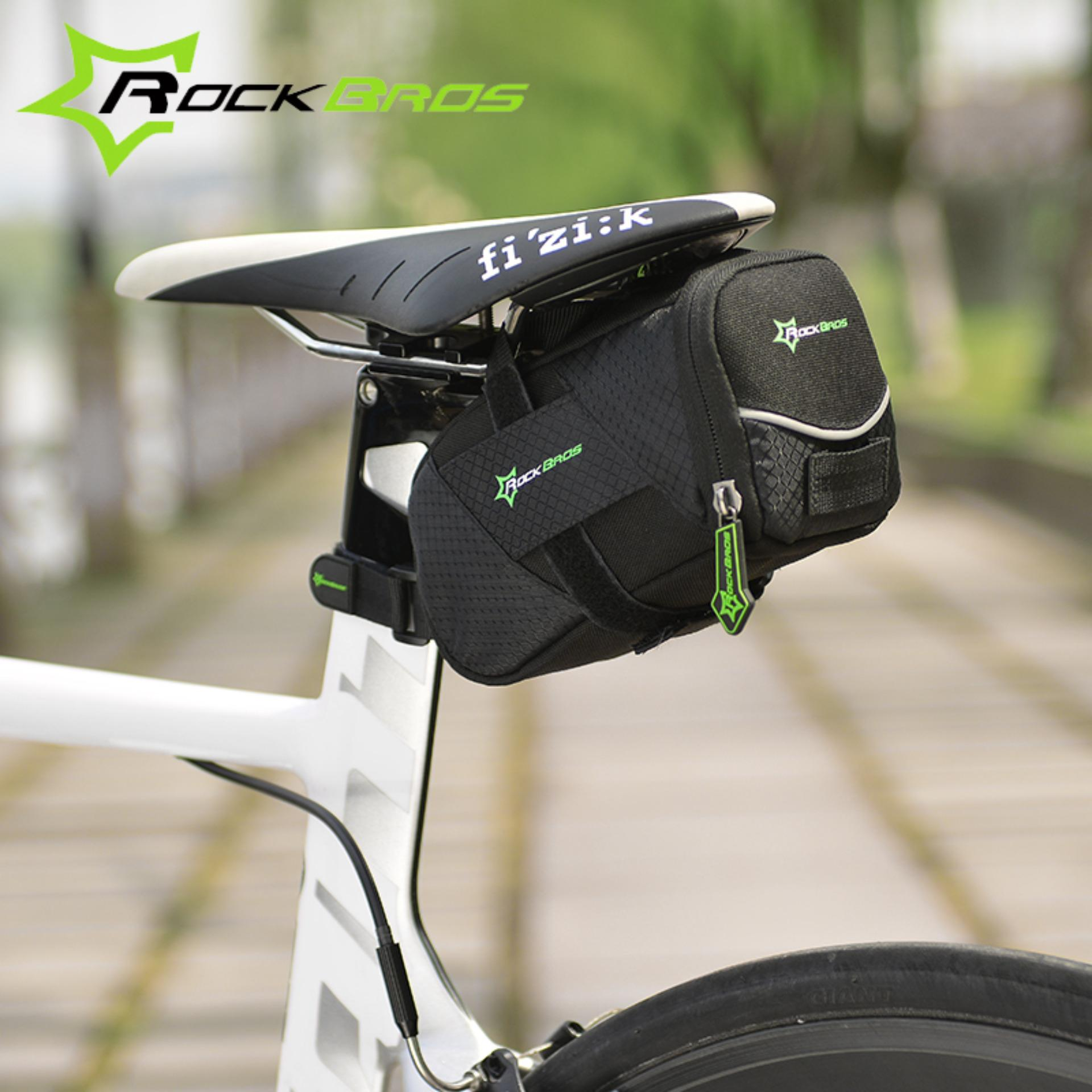 ... RockBros Moutain Road Bike Bag Durable Quick Release Bicycle SaddleBag Cycling Back Seat Seatpost Tail Bag ...