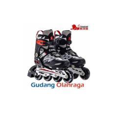 Sepatu Roda COUGAR Inline Skate MZS835L Balck GreenIDR989400. Rp 989.400 806d8210a8
