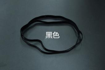 DISKON Silikon non-slip antiperspirant kebugaran band rambut kebugaran karet rambut