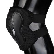 Skateboard Roller Blading Siku Lutut Pergelangan Tangan Pelindung Keselamatan Gear Pad 6 Pcs-Intl