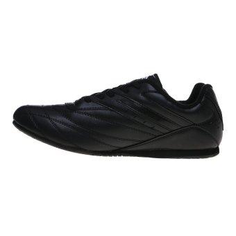 Spotec Corner Lace Sepatu Taekwondo - Hitam/Abu Tua - 4