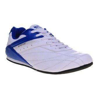 Spotec Corner Lace Sepatu Taekwondo - Putih-Biru