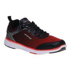 Spotec Omni Light Sepatu Lari - Hitam/Merah