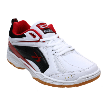 Spotec Pointer Sepatu Badminton - White/Red