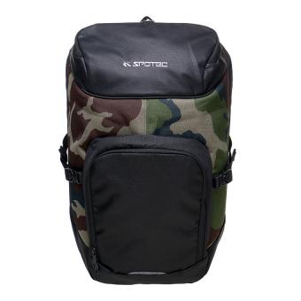 Spotec Tas Ransel Olahraga - Black/Army