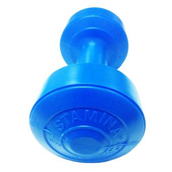 Stamina Dumbbell Plastic 1 kg - Biru