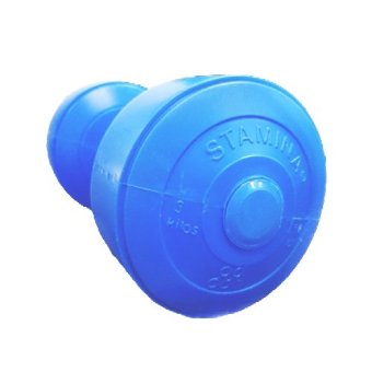 Stamina dumbbell Plastic 3 kg Blue
