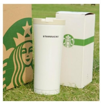 Starbucks thermos cup, stainless steel lovers cup, accompanyingdrinking cup, coffee cup, Valentine's Day gift for men andwomen,Water bottle - intl