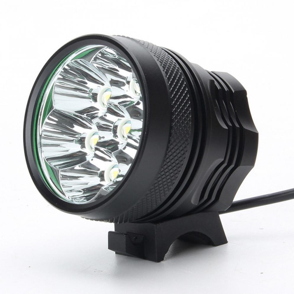 ... Tahan Air 15000 Lumen 9 x CREE XM-L T6 LED Bersepeda Lampu MenyalaTerang ...