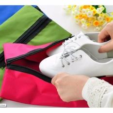 Tas Sepatu Cover Sarung Sepatu Traveling Shoe Bag Polos WaterproofShoes Bag Outdoor Travel Sports Tote Case Handbag Toiletry