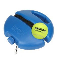 Tennis Ball Singles Training Practice Balls Back Base Trainer Tools and Tennis - intl
