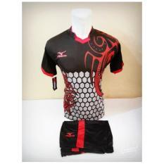 [ TERLARIS MZ 03 ] Baju Kaos Olahraga Jersey Bola Setelan Futsal / Volly Mizuno