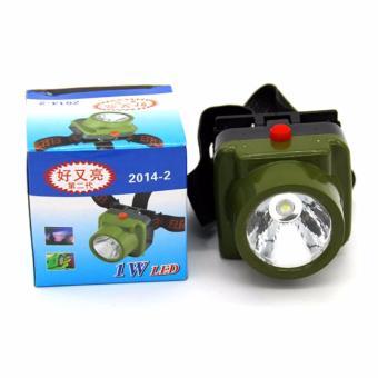 Termurah !! Viper Military Waterproof Headlamp Led Cree - Army Green / Hijau Tentara - Lampu Senter Flashlight Flash Light Head Lamp Ikat Kepala Strap Flexible Fleksibel Anti Air Cahaya Terang - 5