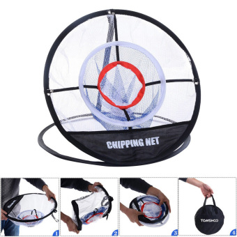TOMSHOO Portable 20 inch Golf Training Chipping Net Hitting Aid Practice Indoor Outdoor Bag - intl - 3