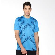 Umbro Pro Training Angular Tee Baju Olahraga Pria - Blue 64463U-ELU