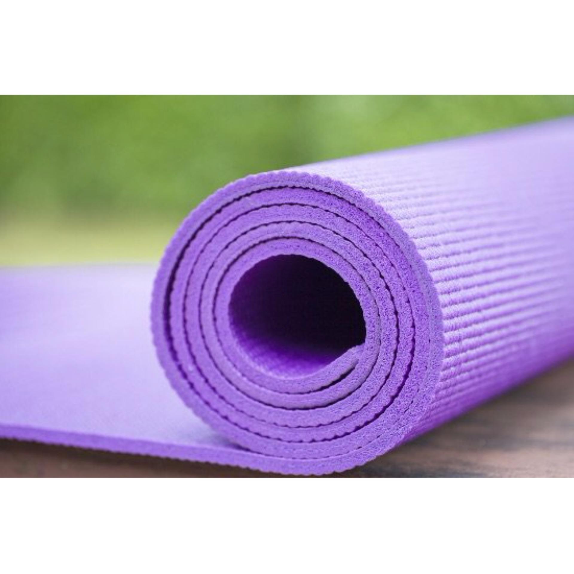 UNIVERSAL - Matras Yoga 6 mm - ungu .