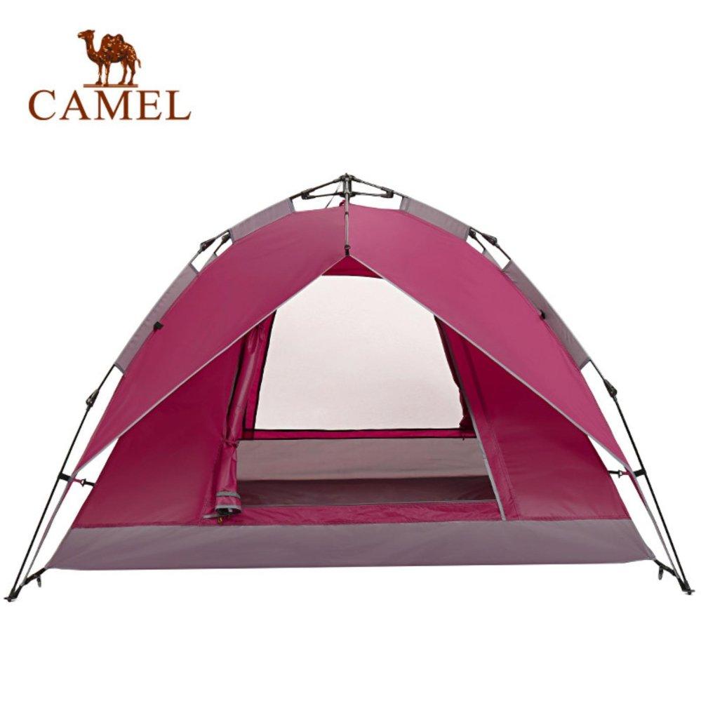 2 X Kolam Gantung Portable Led Promosi Tenda Kemah Bohlam Lampu Camping Model Bulat Bakpau Unta Otomatis 3 4 Double Waterproof Pelindung